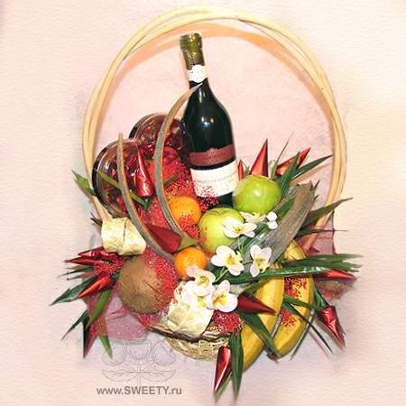 Шуточное поздравление с фруктами на 821